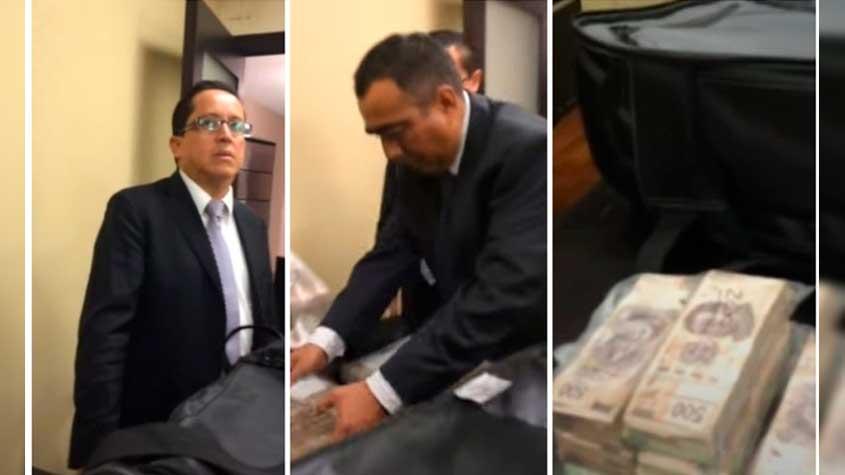 Inmundicia de régimen los vídeos de presuntos sobornos en Senado: AMLO